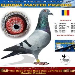 54th place - Iacob Marinel FCI Team A