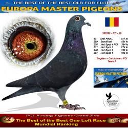 57th place - Bogdan + Carciumaru FCI Team A