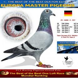 58th place - Team Germany W.A. Waldow & S. Thiel FCI Team A