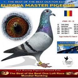 70th place - Tugui Andreea FCI Team A