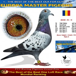 75th place - Bucur Catalin + Evelin FCI Team A