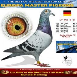 104th place - Bernhard Klueber FCI Team A