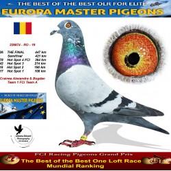 126th place - Crainea Alexandra & Bogdan Team 1 FCI Team A