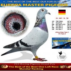 143th place - Alfons Klaas Team 3 FCI Team A