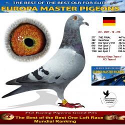 277th place - Helmut Klaas Team 1 FCI Team A