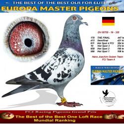 170th place - Hans Joachim Goben team 1 FCI Team A