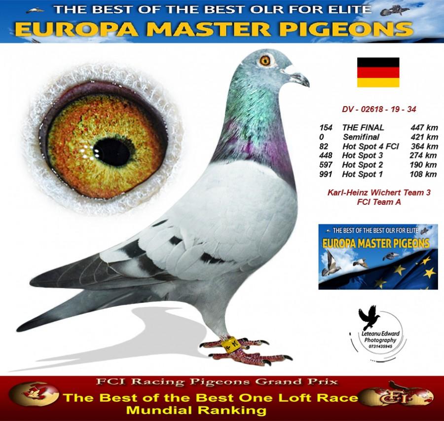 154th place - Karl-Heinz Wichert Team 3 FCI Team A