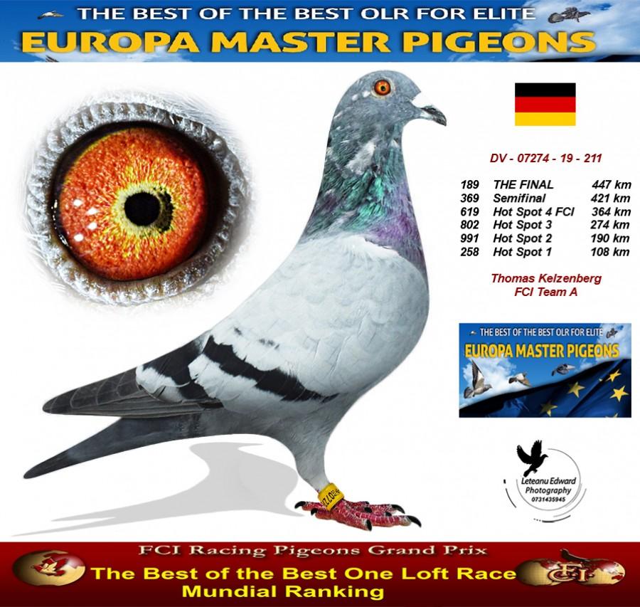 189th place - Thomas Kelzenberg FCI Team A