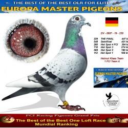229th place - Helmut Klaas Team 1 FCI Team A