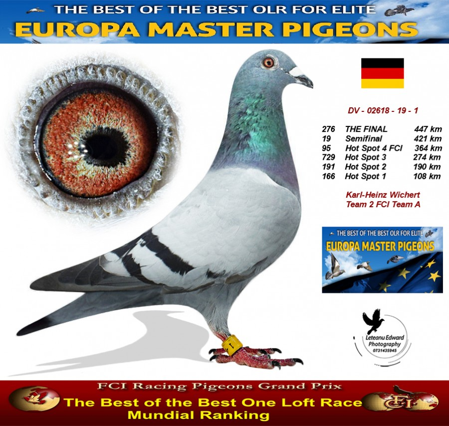 276th place - Karl-Heinz Wichert Team 2 FCI Team A