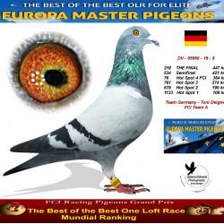 218th place - Team Germany - Toni Deigner FCI Team A