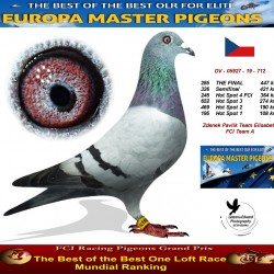 285th place - Zdenek Pavlik Team Elisabeth FCI Team A