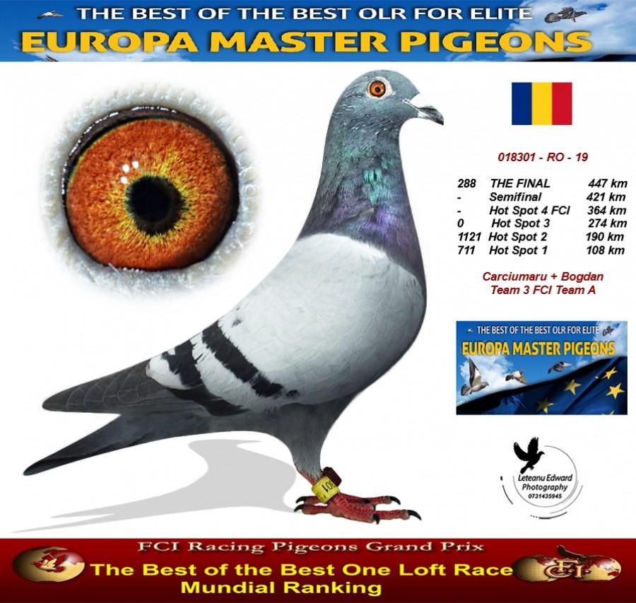 288th place - Carciumaru + Bogdan Team 3 FCI Team A