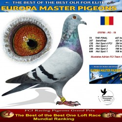 72th place - Mustatea Adrian FCI Team A