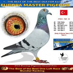 48th place - Derby 16 Bursa Team 2 FCI Team A