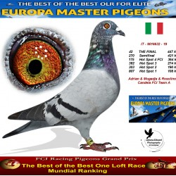 42th place - Adrian & Mogadja & Rosolino & Candela FCI Team A