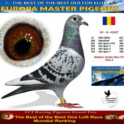 33th place - Balkanic Golden Race FCI Team A
